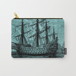 Vintage ship | Vintage pirate | Steam punk design | Pirates Carry-All Pouch
