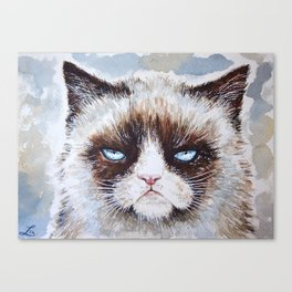 Tard the cat Canvas Print