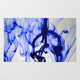 Blue Ink Rug