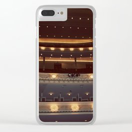Chicago Orchestra Hall Color Photo Clear iPhone Case