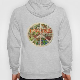 Peace Sign - Love - Graffiti Hoody