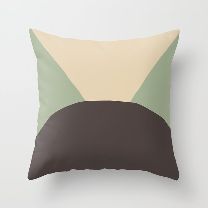 Deyoung Chocomint Throw Pillow