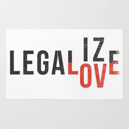 legalize love Rug