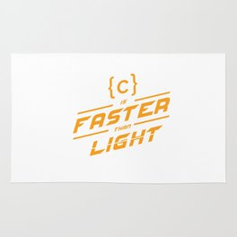C is faster Rug