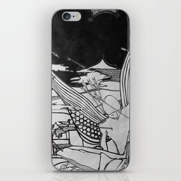 Time to get up iPhone Skin