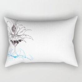 Pineapple Flower Rectangular Pillow