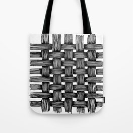 Woven Ink Tote Bag