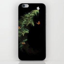 Woodland Butteflies iPhone Skin