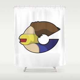 Supertype C Shower Curtain