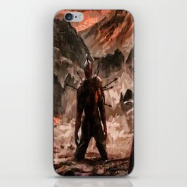 Defiant To The End iPhone Skin