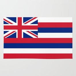 Hawaiian Flag, Official color & scale Rug