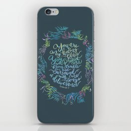 You Are My Hiding Place - Psalm 32:7 iPhone Skin