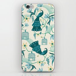 Aviary - Cream iPhone Skin
