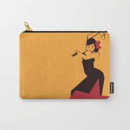 faceted flamenco Carry-All Pouch