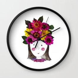 I'm a Girl Wall Clock