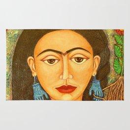 My homage to Frida Kahlo Rug
