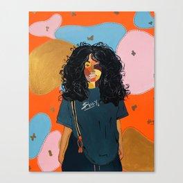 SZA Canvas Print