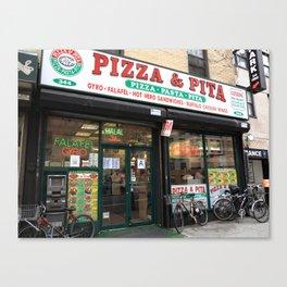 New York City Pizza 2014 Canvas Print