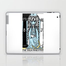 Modern Tarot - 2 The High Priestess Laptop & iPad Skin