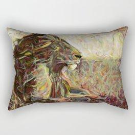 Fire, Wind and Spirit Rectangular Pillow