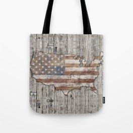 USA Map Life - Square Tote Bag