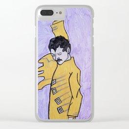 Freddy mercury Clear iPhone Case