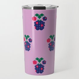 Fruit: Blackberry Travel Mug