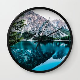 Away from civilization Wall Clock