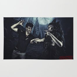 Halloween Nightmare Poster  Rug