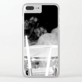 SMOKIN BEAT Clear iPhone Case