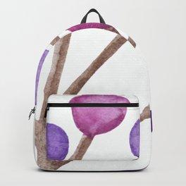 Purple Bubble Branch Backpack