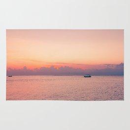 Balinese sunsets Rug