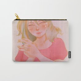 Happy Girl Carry-All Pouch