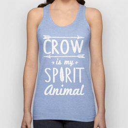 Crow Is My Spirit Animal Unisex Tank Top