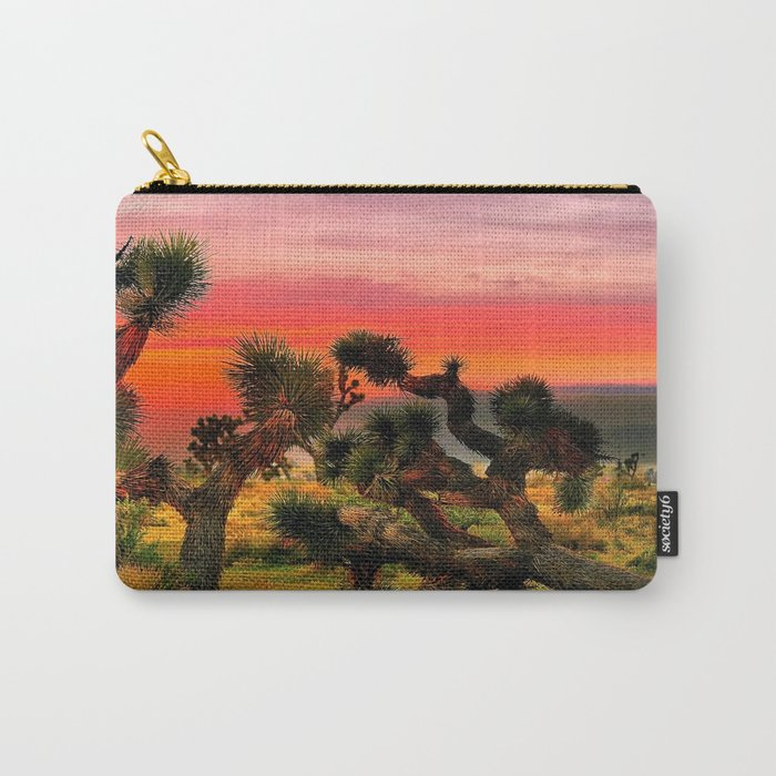 Sunset at Joshua Tree National Park, California, USA Carry-All Pouch
