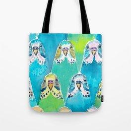 Budgies Tote Bag