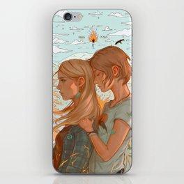 Burn It Down iPhone Skin