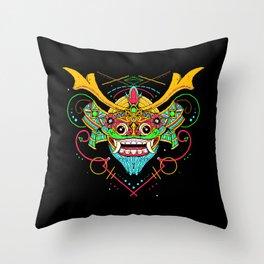SAMURAI BARONG Throw Pillow