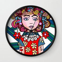Style Girl - Ruby Wall Clock