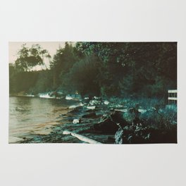 Surreal British Columbia Landscape Rug