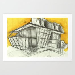 side Art Print