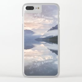 Mornings like this - Landscape and Nature Photography Clear iPhone Case