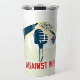 Against me! fan art Travel Mug