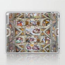 "Michelangelo ""Sistine Chapel ceiling"", Laptop & iPad Skin"