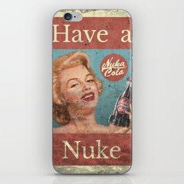Nuka Cola - Custom Fallout Ad iPhone Skin