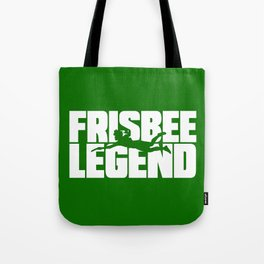 Frisbee Legend Tote Bag