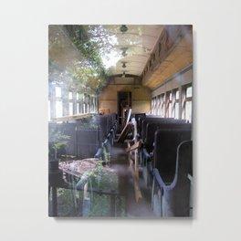 Train Car Metal Print