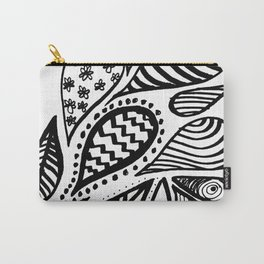 Teardrop Patterns Carry-All Pouch