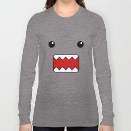 Domo Kun - Brown Japanese Monster Long Sleeve T-shirt
