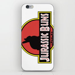 JURASSIC BUNS iPhone Skin